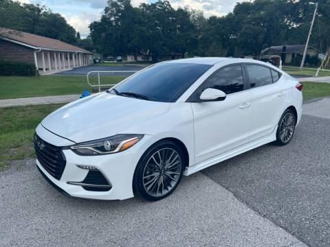 2017 Hyundai Elantra for sale at P J Auto Trading Inc in Orlando FL