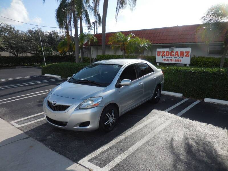 2012 Toyota Yaris for sale at Uzdcarz Inc. in Pompano Beach FL