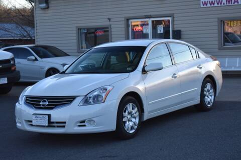 2012 Nissan Altima for sale at MANASSAS AUTO TRUCK in Manassas VA