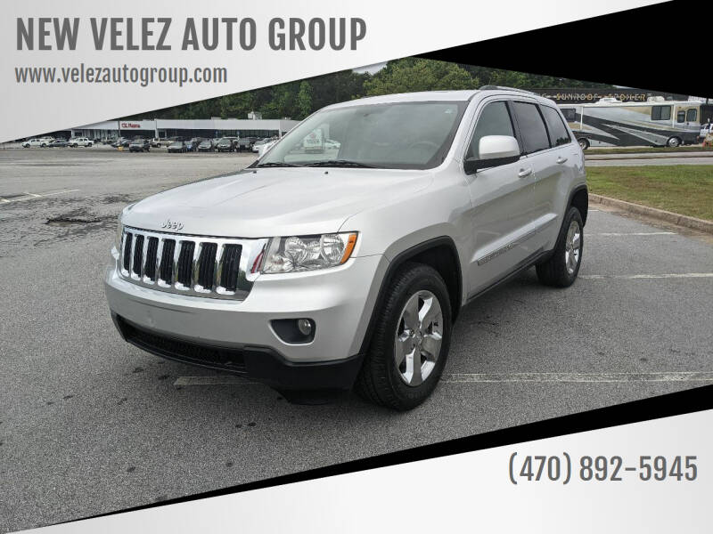 2011 Jeep Grand Cherokee for sale at NEW VELEZ AUTO GROUP in Gainesville GA