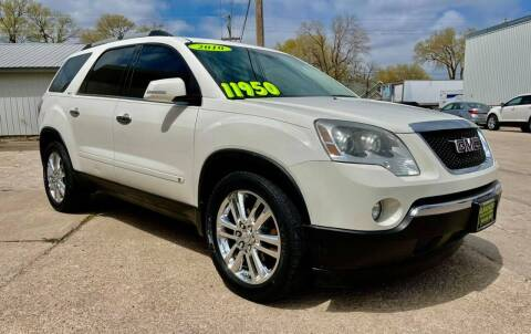 2010 GMC Acadia for sale at Island Auto Express in Grand Island NE