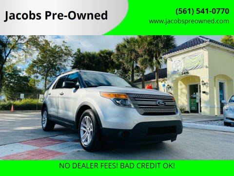 2015 Ford Explorer for sale at Jacobs Pre-Owned in Lake Worth FL