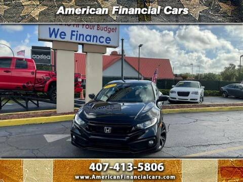 2020 Honda Civic for sale at American Financial Cars in Orlando FL