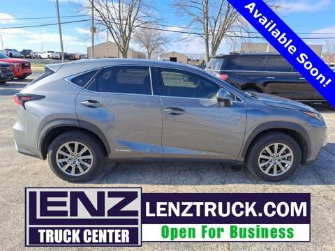 2018 Lexus NX 300h for sale at LENZ TRUCK CENTER in Fond Du Lac WI