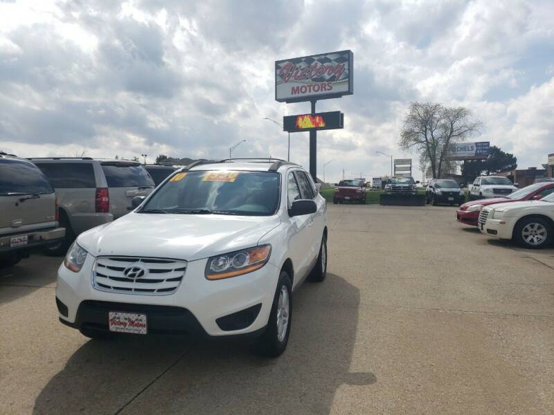 2010 Hyundai Santa Fe for sale at Victory Motors in Waterloo IA