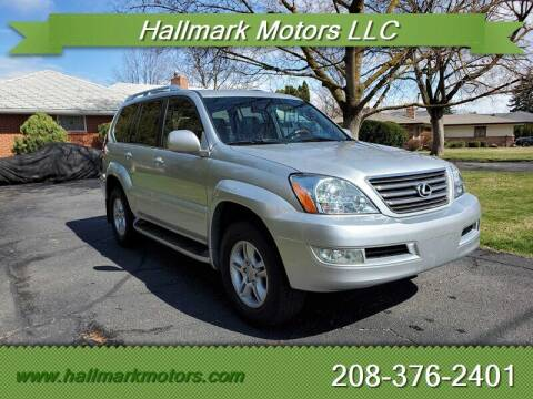 2006 Lexus GX 470 for sale at HALLMARK MOTORS LLC in Boise ID