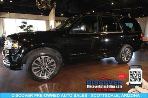2017 Lincoln Navigator for sale at Discover Pre-Owned Auto Sales in Scottsdale AZ