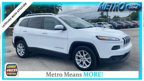 2017 Jeep Cherokee for sale at Your First Vehicle in Miami FL