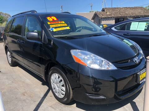 2009 Toyota Sienna for sale at Devine Auto Sales in Modesto CA