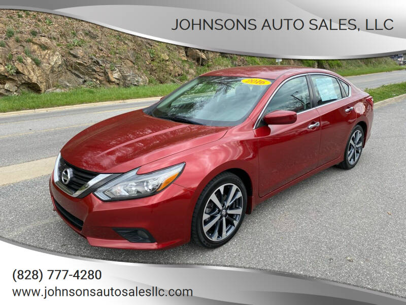 2016 Nissan Altima for sale at Johnsons Auto Sales, LLC in Marshall NC