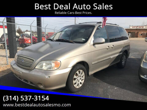 2005 Kia Sedona for sale at Best Deal Auto Sales in Saint Charles MO