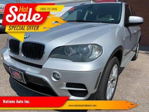 2011 BMW X5 for sale at Nations Auto Inc. in Denver CO