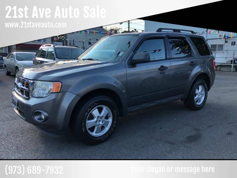 2009 Ford Escape for sale at 21st Ave Auto Sale in Paterson NJ
