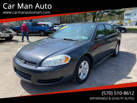 2009 Chevrolet Impala for sale at Car Man Auto in Old Forge PA