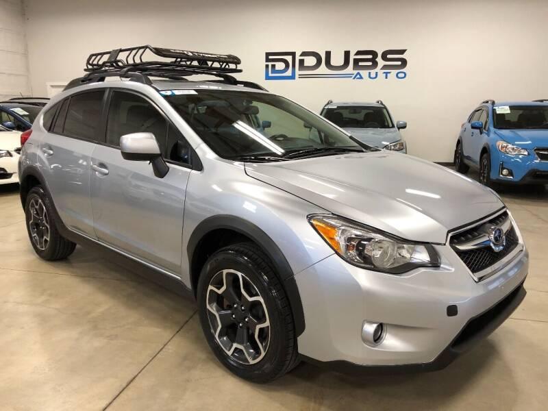 2014 Subaru XV Crosstrek for sale at DUBS AUTO LLC in Clearfield UT