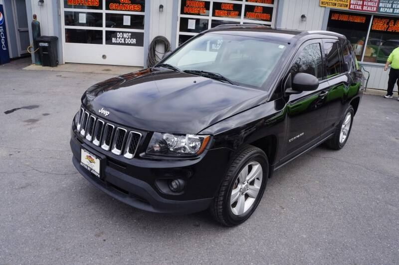 2016 Jeep Compass for sale at Autos By Joseph Inc in Highland NY