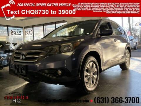 2014 Honda CR-V for sale at CERTIFIED HEADQUARTERS in St James NY