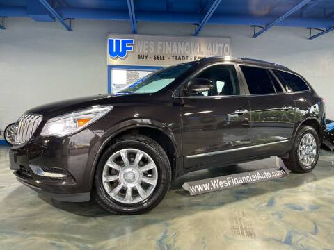 2013 Buick Enclave for sale at Wes Financial Auto in Dearborn Heights MI