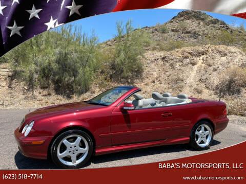 2002 Mercedes-Benz CLK for sale at Baba's Motorsports, LLC in Phoenix AZ