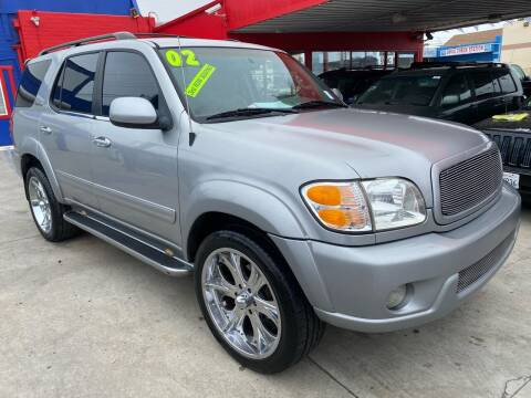 2002 Toyota Sequoia for sale at North County Auto in Oceanside CA