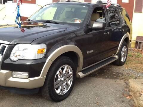 2007 Ford Explorer for sale at Lance Motors in Monroe Township NJ