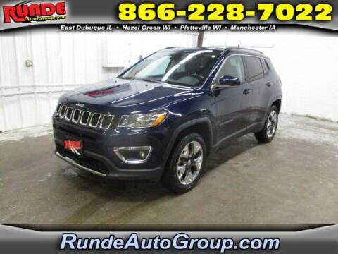 2019 Jeep Compass for sale at Runde PreDriven in Hazel Green WI