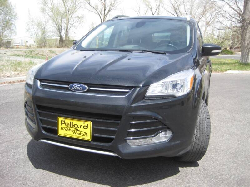 2014 Ford Escape for sale at Pollard Brothers Motors in Montrose CO