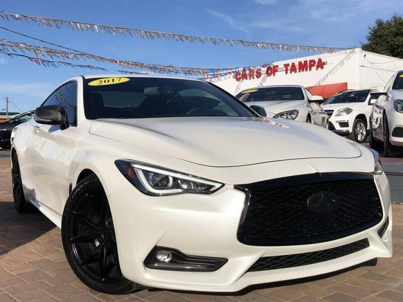 2017 Infiniti Q60 for sale at Cars of Tampa in Tampa FL