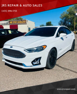 2019 Ford Fusion Hybrid for sale at JRS REPAIR & AUTO SALES in Richfield UT