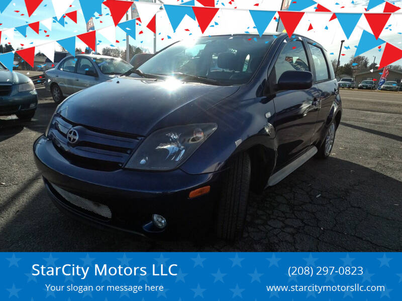 2004 Scion xA for sale at StarCity Motors LLC in Garden City ID