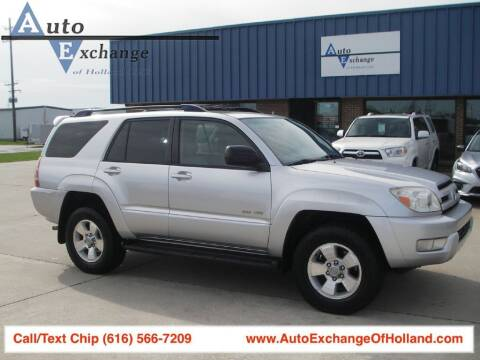 2003 Toyota 4Runner for sale at Auto Exchange Of Holland in Holland MI