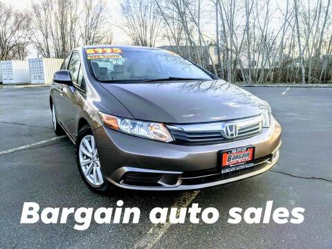 2012 Honda Civic for sale at Bargain Auto Sales LLC in Garden City ID