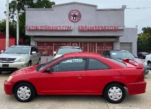 2003 Honda Civic for sale at Eazy Auto Finance in Dallas TX