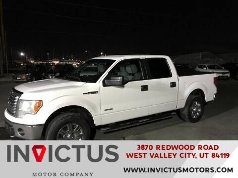 2012 Ford F-150 for sale at INVICTUS MOTOR COMPANY in West Valley City UT