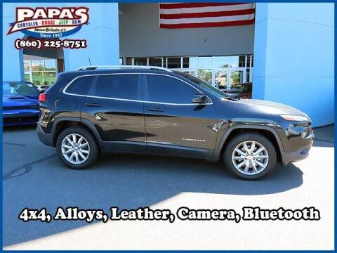 2016 Jeep Cherokee for sale at Papas Chrysler Dodge Jeep Ram in New Britain CT