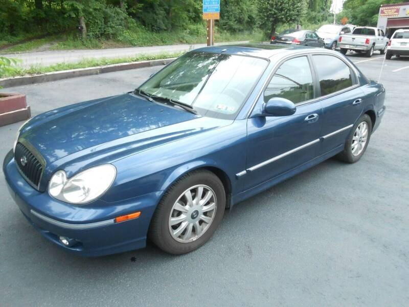 2005 Hyundai Sonata for sale at AUTOS-R-US in Penn Hills PA