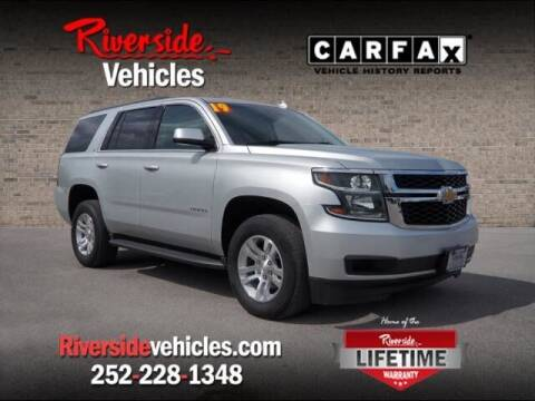 2019 Chevrolet Tahoe for sale at Riverside Mitsubishi(New Bern Auto Mart) in New Bern NC