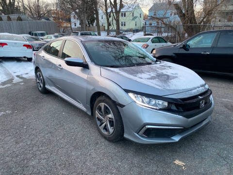 2020 Honda Civic for sale at Polonia Auto Sales and Service in Hyde Park MA