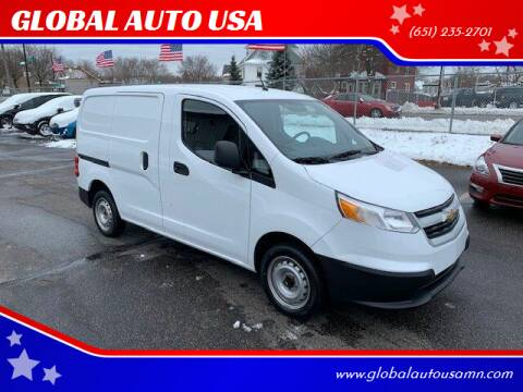 2015 Chevrolet City Express Cargo for sale at GLOBAL AUTO USA in Saint Paul MN