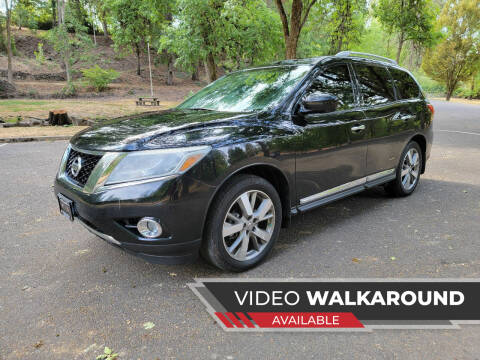 2014 Nissan Pathfinder for sale at McMinnville Auto Sales LLC in Mcminnville OR