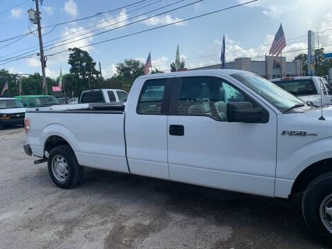2013 Ford F-150 for sale at Ricky Auto Sales in Houston TX