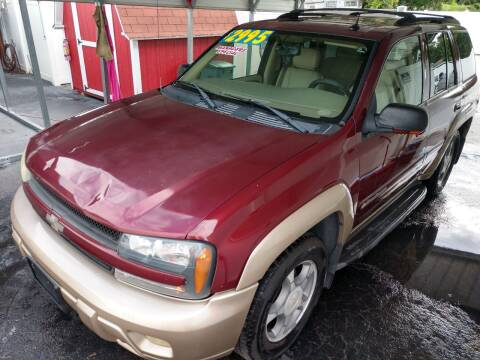 2004 Chevrolet TrailBlazer for sale at AFFORDABLE AUTO SALES in Saint Petersburg FL