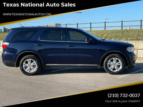 2014 Dodge Journey for sale at Texas National Auto Sales in San Antonio TX