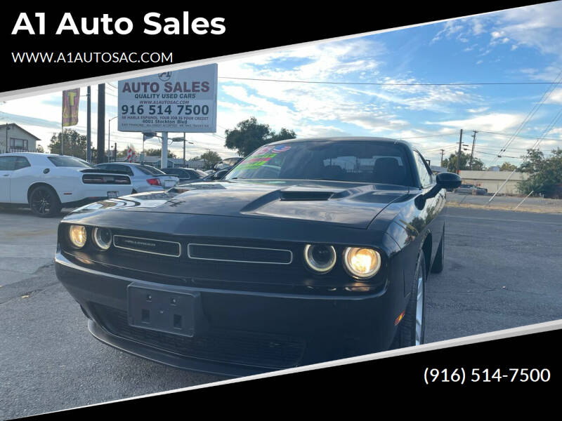 2015 Dodge Challenger for sale at A1 Auto Sales in Sacramento CA
