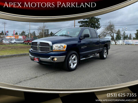 2006 Dodge Ram Pickup 1500 for sale at Apex Motors Parkland in Tacoma WA