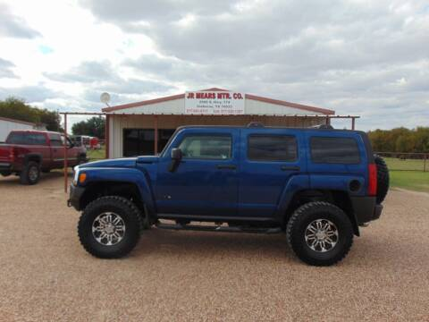 2006 HUMMER H3 for sale at Jacky Mears Motor Co in Cleburne TX