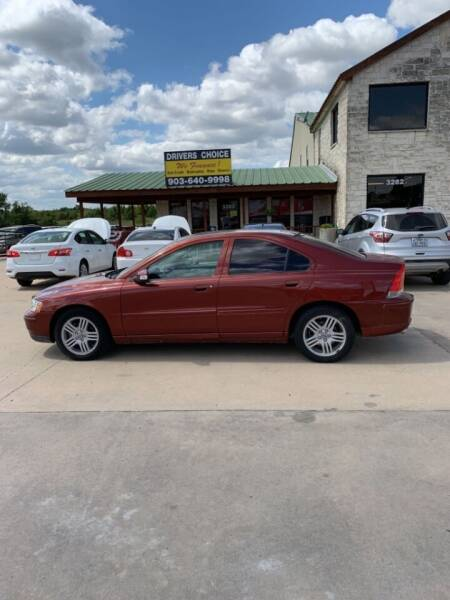2008 Volvo S60 for sale at Driver's Choice in Sherman TX