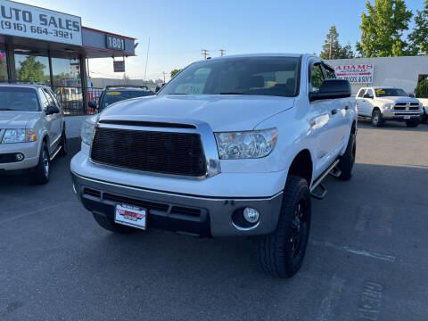 2013 Toyota Tundra for sale at Adams Auto Sales in Sacramento CA