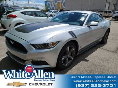 2016 Ford Mustang for sale at WHITE-ALLEN CHEVROLET in Dayton OH