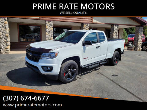 2018 Chevrolet Colorado for sale at PRIME RATE MOTORS in Sheridan WY